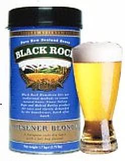 手作りビールキット ブラックロック ピルスナーブロンド(缶単体、イースト付、オリジナル説明書添付)