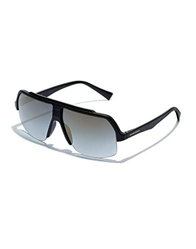 HAWKERS BAVE Gafas de Sol, Black REVO, Talla única Unisex Adulto
