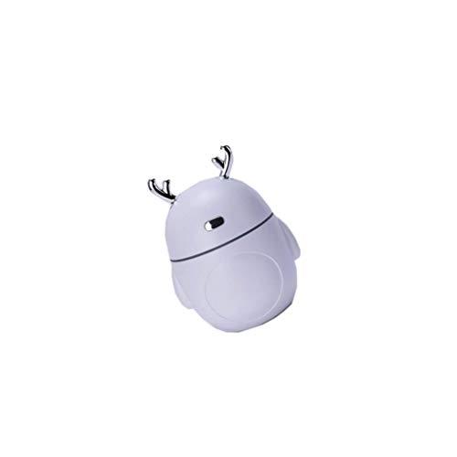 dailymall USB Mini Humidificateur Petit Filet Rouge Pulvérisation Maison Muet Chambre - Blanc