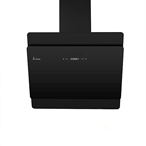 KKT KOLBE/Kopffreie Wandhaube/Dunstabzugshaube / 60cm / Edelstahl/schwarzes Glas/Nachlaufautomatik/SensorTouch Bedienung / SOLO606S