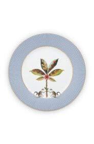 PiP Studio - Teller, Kuchenteller, Dessertteller - La Majorelle - Porzellan - Blue - D 21 cm
