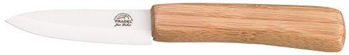 Pradel Jean Dubost 1/10709 Couteau d'Office Céramique Manche Bambou
