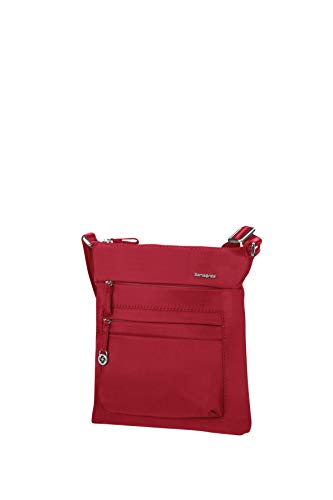 Samsonite Move 2.0 - Mini Schultertasche für Tablet, 26.6 cm, rot (Dark Red)