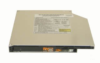 Toshiba TS-L633 Slimline DVD Brenner Laufwerk S-MULTII, 2MB, S-ATA, Bulk, Lesen