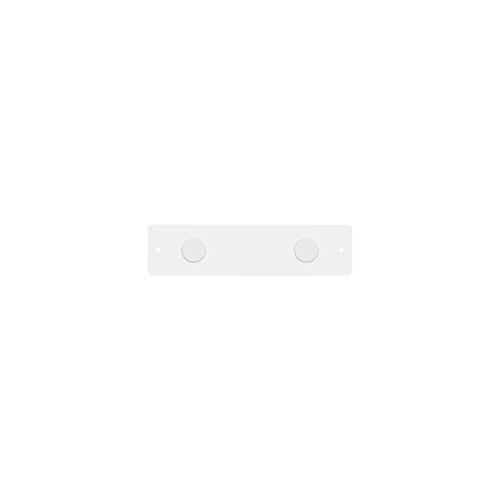 Three By Three Quadro de avisos com tira magnética de Seattle, 7,6 x 30,5 cm, branco (31259)