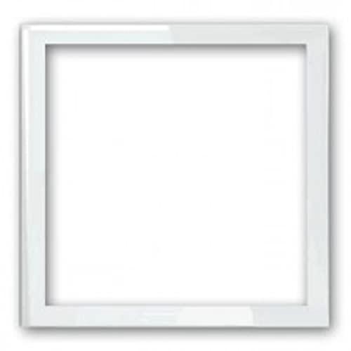 Marco de 1 elemento, serie 100, 2 x 8,4 x 8,4 centímetros, color blanco (referencia: 10000610-230)