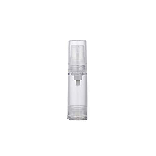 KaariFirefly 1 tragbare Spray/Pump-Flasche für unterwegs, durchsichtig, leer, Druckpumpe, nachfüllbare Flasche, Vakuum-Flasche (20/50/120 ml)