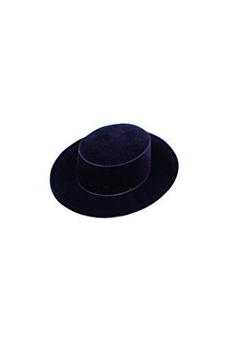 Chapeau Espagnol Noir Floque