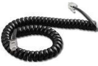 Avaya 9600 IP Series Black 9 Foot Handset Cord