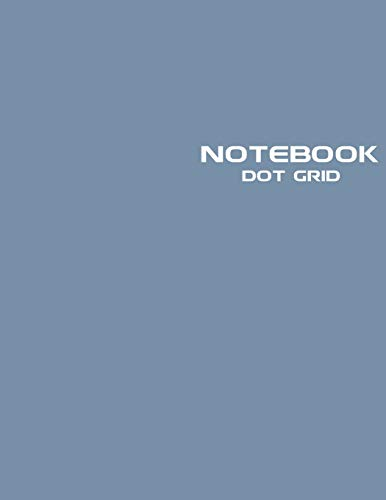 Dot Grid Notebook: Stylish Jean Jacket Notebook Journal, 120 Dotted Pages 8.5...