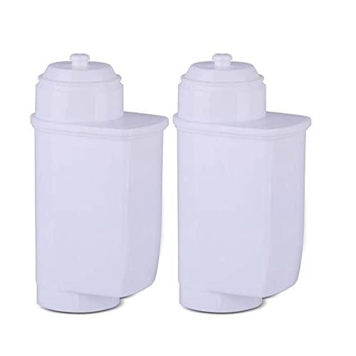 huazhuang-home Ekspres do kawy Miękkie Filtr wody FIT dla BRITA SAECO SIEMENS BOSCH NEFG GAGGENAU EINBAU-KAFFEEVOLLAUTOMAT EXCLUSIV Panasonic. (Color : 2pc)