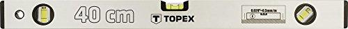 Topex 29c301 Aluminium-Wasserwaage eloxiert 40 cm