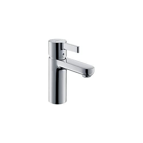 hansgrohe Metris S Modern Low Flow Water Saving 1-Handle 1 6-inch Tall Bathroom Sink Faucet in Chrome, 31060001