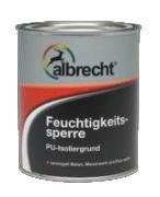 Feuchtigkeitssperre farblos 750ml Albrecht, PU-Isoliergrund