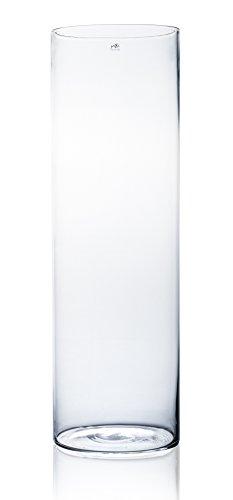 Sandra Rich Glasvase CYLI klar zylindrisch 80 cm Ø 25 cm