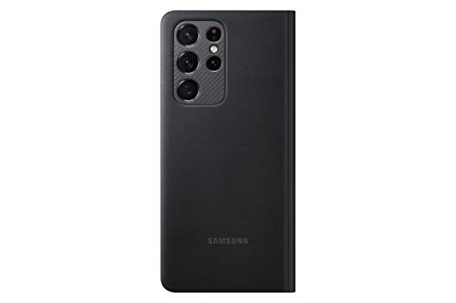 Samsung Galaxy S21 Ultra 5G LED View Cover Black