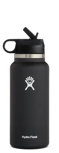 Hydro Flask 32 oz. Water Bottle with Straw Lid -...