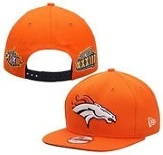 New Era Denver Broncos Super Bowl Patch Post Adjustable Snapback Hat/Cap