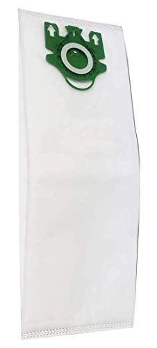 ZVac Miele Type U Replacement Vacuum Cleaner HEPA Cloth Bags - Restore Miele Parts 07282050, SAC-30, 210 - Compatible with Miele Upright Vacuums, Type U1, S7, S7000-S7999 Series
