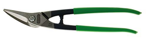 Stubai 270011GR Cisaille à Tôle Multiusage Droite/PVC-Isolé, Vert/Argent, 280 mm