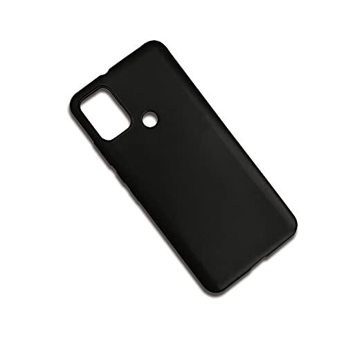 Funda impermeable para teléfono Lulumi, compatible con Huawei Enjoy 7/Y6 Pro 2017/P9 Lite Mini, soporte de diseño para mujer, carcasa suave de TPU de color negro