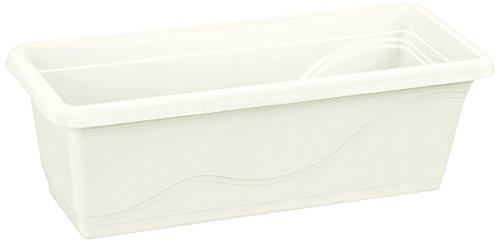 Plastkon Extra Flor Jardinière Blanc 50 cm