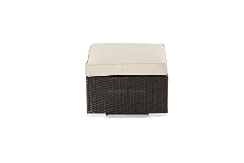 Footstool - Modular Rattan Garden Furniture - Select Your Components To Match Your Exact Specification