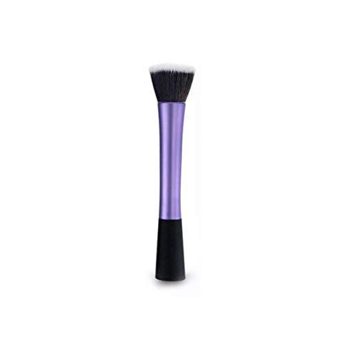 1 Kleine Taille Make-up Pinsel Kleine Taille Lange Aluminiumrohr 1 Set Make-up Pinsel Make-up Pinsel...