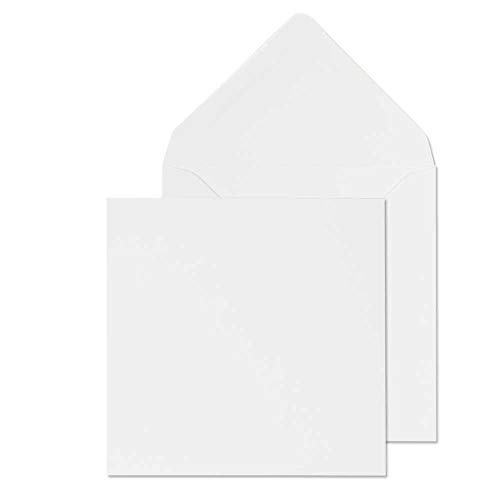 100 White Cards & Envelopes by Cranberry Card Company (6 x 6)