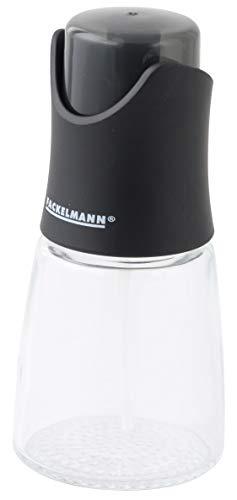 Fackelmann 47309, Pulvérisateur Huile et vinaigre Spray, ABS et Verre, Transparent et Coloris aléatoire : Gris Blanc ou Vert, 125ml