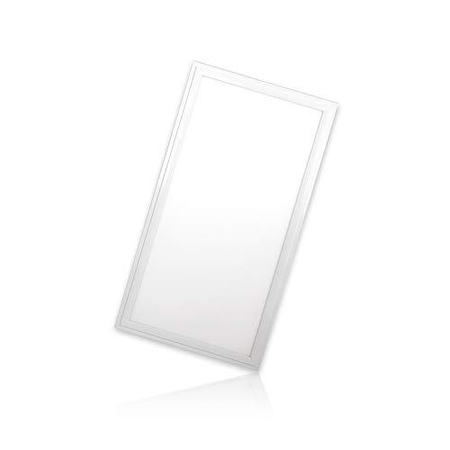 LED Panel 60x30 cm 24W Farben umschaltbar warmweiß neutralweiß tageslicht 3CCT mit Treiber, PMMA, ohne Montagematerial! Serie PLs3.0