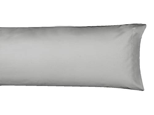 MI CASA F.Almohada Basic 70 OSC Funda de Almohada, Gris Oscuro, 70cm