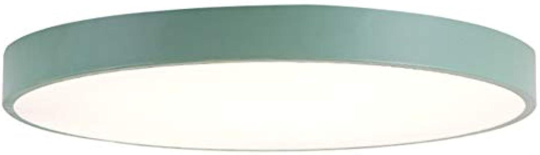 LED Deckenleuchte, Ultradünne Schlafzimmerleuchte Energiesparlampe Küche, Flur, Büro 30cm 18w 220V 2kg Acryl Monochrom Weilicht
