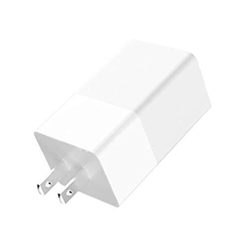 Berrywho Fast USB Plug Cargador de teléfono 65W GAN Cargador Cargador de teléfono móvil Quik de Carga portátil para el Ordenador portátil teléfono Blanco
