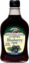 Maple Grove Farms Blueberry Syrup 8.5 ounce case M Limited Classic price per -- by 12