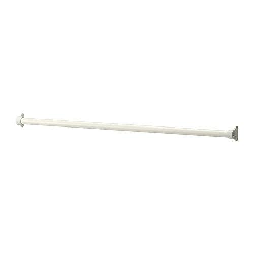 Ikea KOMPLEMENT - Barra de ropa, blanco - 100 cm