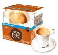 NESCAFÉ Dolce Gusto Lungo Decaffeinato   48 Kaffeekapseln   Entkoffeiniert   100% Arabica Bohnen aus Südamerika   Feine Crema   Aromaversiegelte Kapseln   3er Pack (3 x 16 Kapseln)