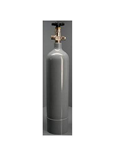 Bombona de CO2 recargable para acuario, 2 kg