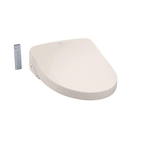 TOTO SW3046#12 S500E Electronic Bidet Toilet Cleansing, Instantaneous Water, EWATER Deodorizer, Warm Air Dryer, and Heated Seat, Elongated Contemporary, Sedona Beige