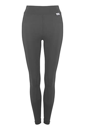 Proskins Classic Slim, Anti-Cellulite Slimming Compression – volle Länge Leggings (20, Graphit)
