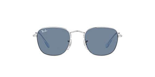 Ray-Ban 0RJ9557S Gafas, Silver, 46 Unisex Adulto