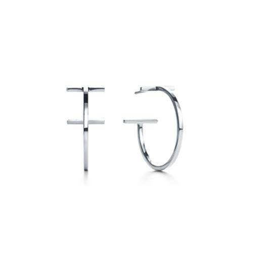 TIFFANY&Co[ティファニー] T ワイヤー フープ ピアス [tp3061] 並行輸入品 [並行輸入品]