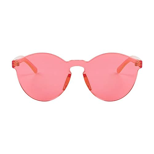 YLWL Gafas de Sol con Ojos de Gato para Mujer, Estilo de Moda, Gafas de Sol Transparentes con Espejo, Gafas integradas, Lentes de Resina UV400, Gafas de Todo fósforo