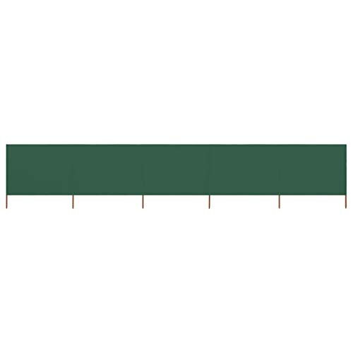 Susany Paravientos de Playa Paravientos Cocina Camping de 5 Paneles Tela Verde 600x160cm