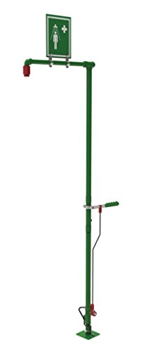 Great Features Of Justrite 30202 Drench Shower, Self-Draining, Floor Mount, Stainless Steel Pipe, No...
