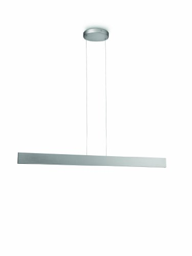 Philips Ledino LED-Pendelleuchte Exact 6-flammig 2,5 W, aluminium lackiert 408374816