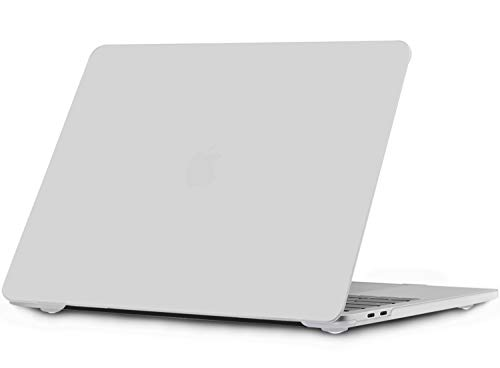 I INESEON MacBook Pro 16 Case Hoes, Hard Shell Case Plastic Cover voor 2019 MacBook Pro 16 Inch met Touch Bar Model A2141, Frosted Helder