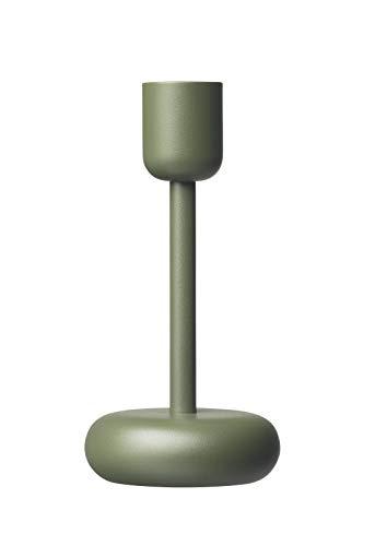 Iittala Nappula kandelaar, metaal, groen, 183 mm