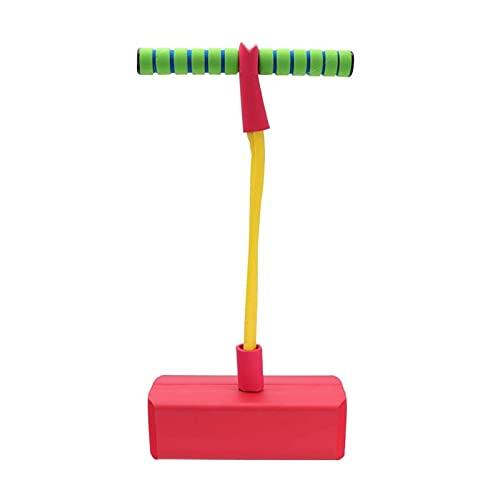 GST Saltador Bounce Stick Kids 5-10 Old & hasta 36kgs 6 años de Edad y niños Mayores niños y niñas for el Jinete ( Color : Red )