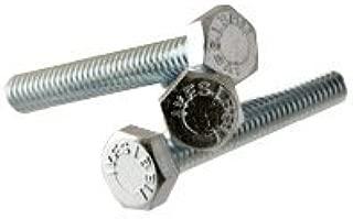 GRADE 2 Hex Head Cap Screw Length: 2 QUANTITY: 100 1//4-20x2, Size: 1//4-20 ZINC CR+3 PT   Partially Threaded INCH